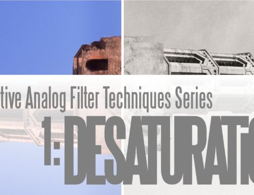 Alternative Analog Filter Techniques Series 1: Desaturation