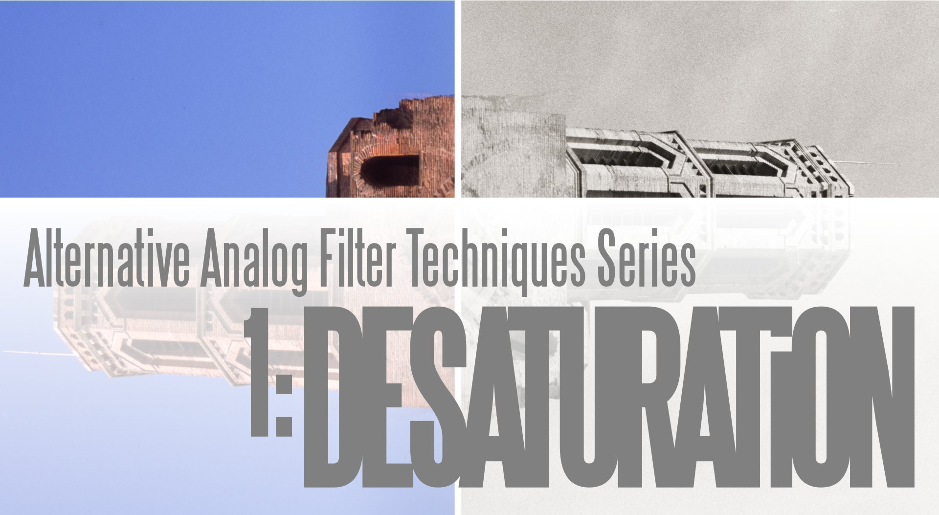 Alternative Analog Filter Techniques Series desaturation