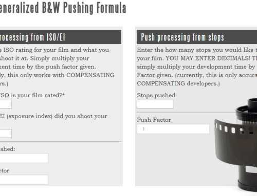 On a Generalized B&W Pushing Formula